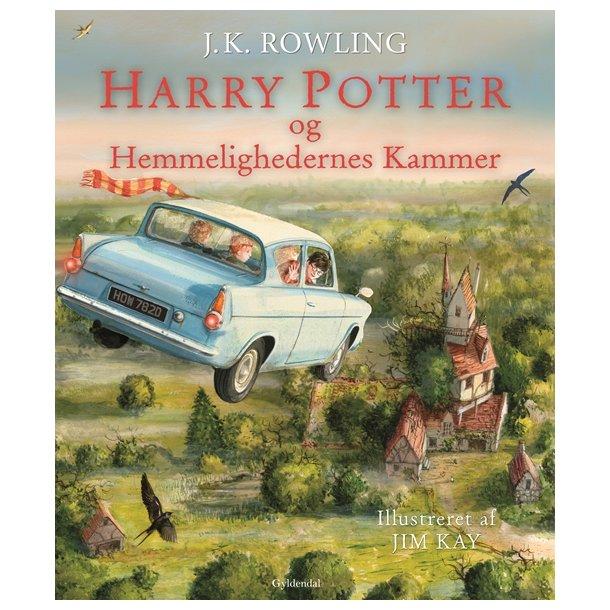 Harry Potter Illustreret 2. Hemmelighedens Kammer.