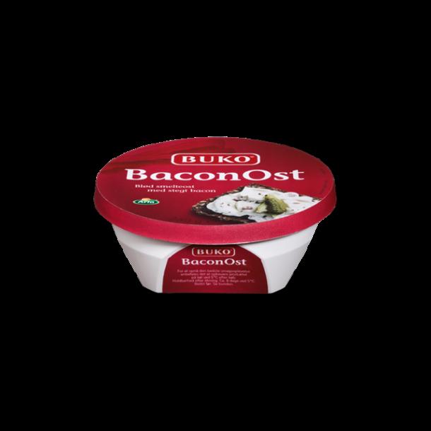 Buko Baconost smøreost, 250g.