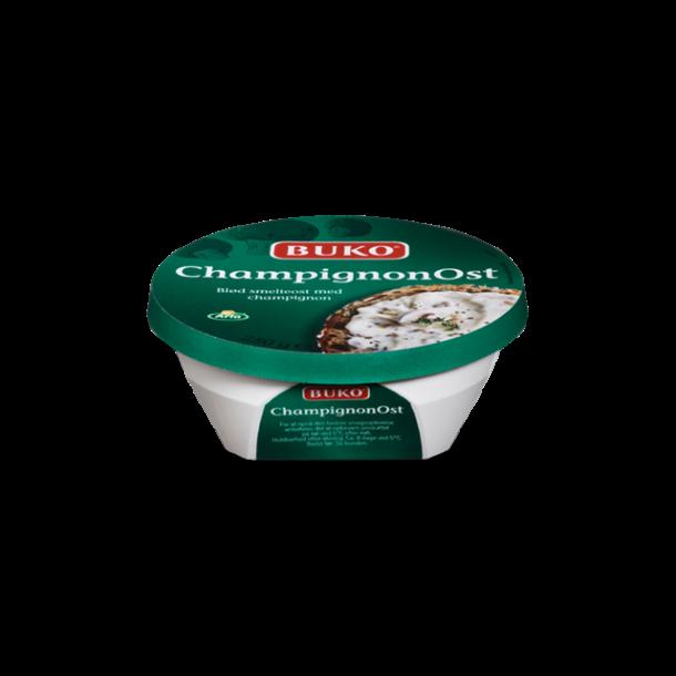 Buko Champignonost smøreost, 250g