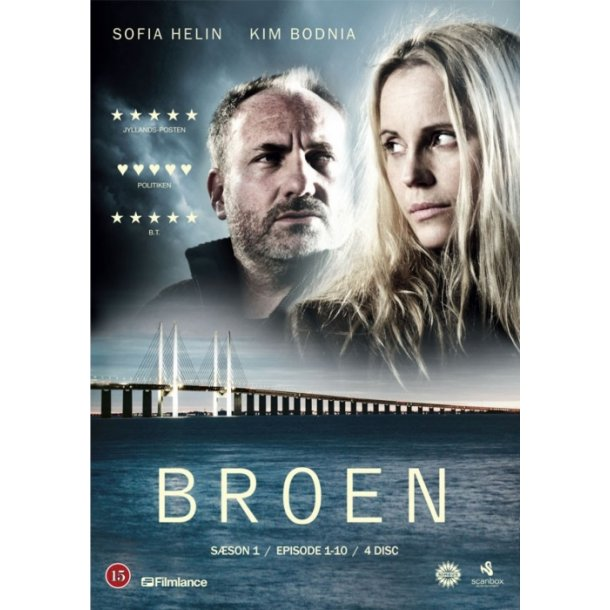 Broen ( 3 stk. DVD )