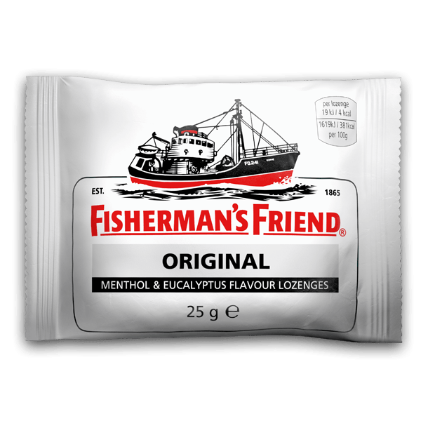 Fishermans Friend Original, 3 poser