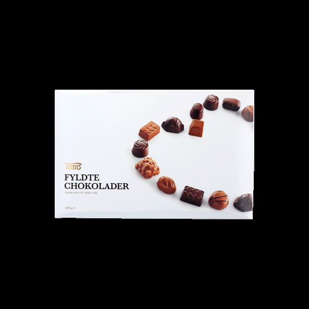 Toms fyldte chokolader, 205g