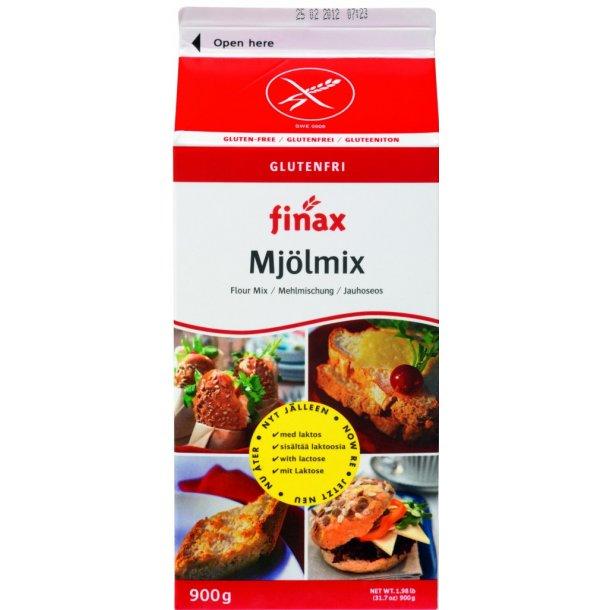 Finax glutenfri melblanding, Basis. (rød). 900g
