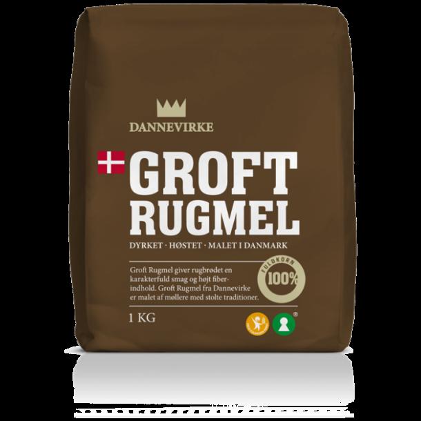 Dannevirke Groft Rugmel, 1000 gram