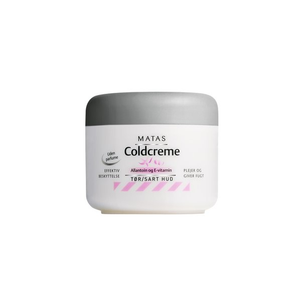 Coldcreme, Uparfumeret med Allantoin og E-vitamin, 150 ml