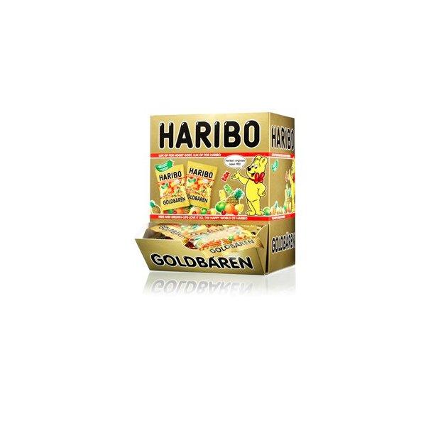 Haribo miniposer Guldbamser, 100 stk.