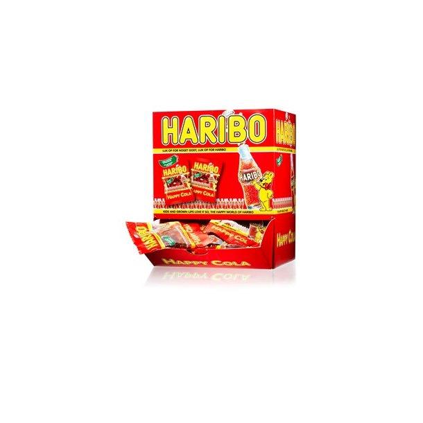 Haribo miniposer Colaflasker, 100stk.