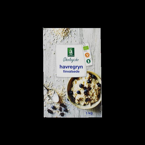 Havregryn finvalset Økologisk Änglamark. 1kg.