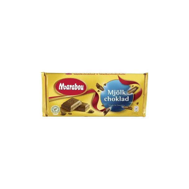 Marabou Mælkechokolade, 200 gram