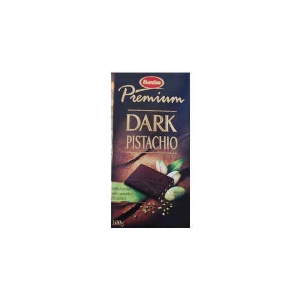 Marabou Chokolade Premium Cocoa Pistachio, 100 gram