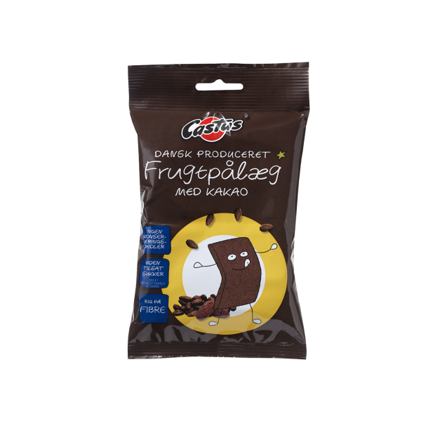 Frugtpålæg med kakao, 12 skiver