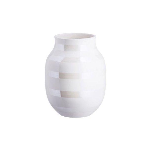 Kähler omaggio vase perlemor mellem 20 cm