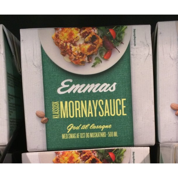 Mornay Sauce fra Emmas, 1/2liter.