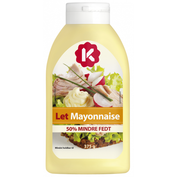 Mayonnaise Let fra K-salat, 375g