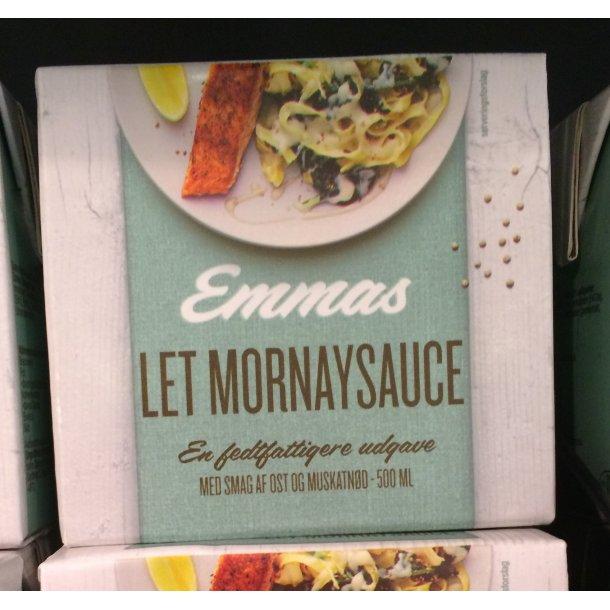 Mornay sauce Let 5% fra Emmas, 1/2 liter.