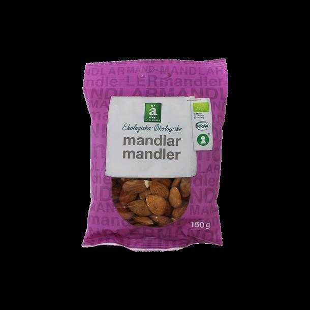 Mandler økologiske, 150 gram, Änglamark