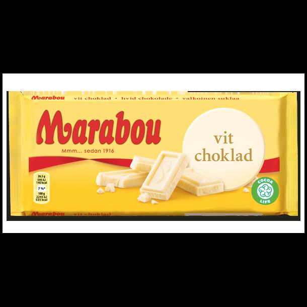 Marabou Hvid, 200g
