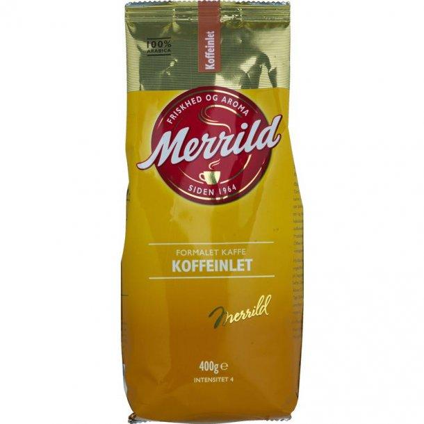 Merrild Koffeinlet, 400 gram