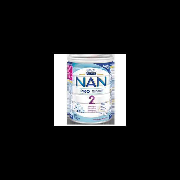 Nan Pro 2 modermælkserstatning. 800g
