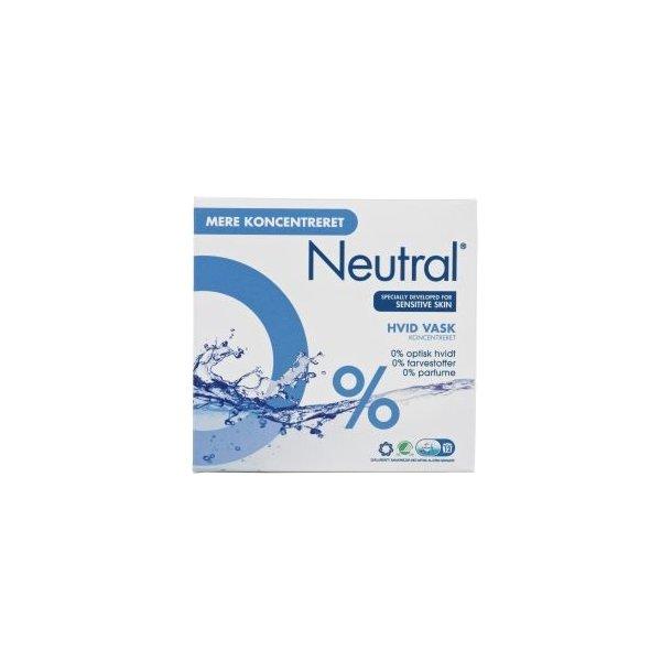 Neutral hvid vaskepulver, 675 gram