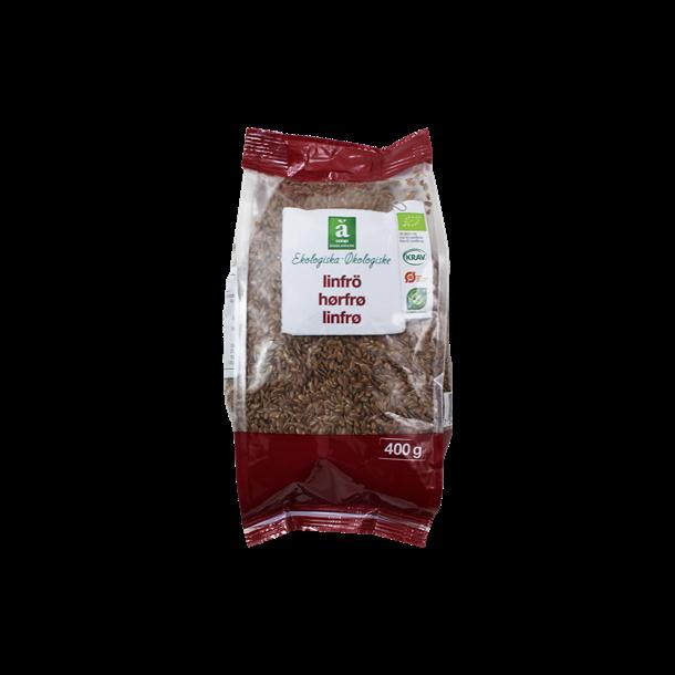 Hørfrø økologiske, 400 gram, Änglamark
