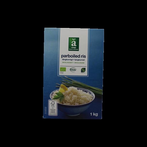 Ris parboiled økologiske, 1kg, Änglamark