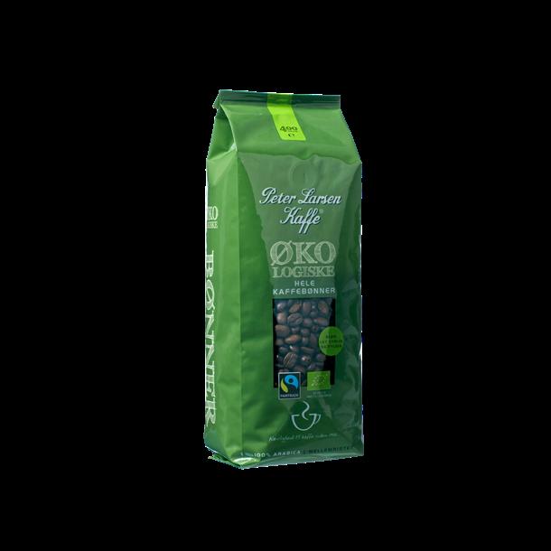 Peter Larsen Økologiske Hele kaffebønner, 400 gram