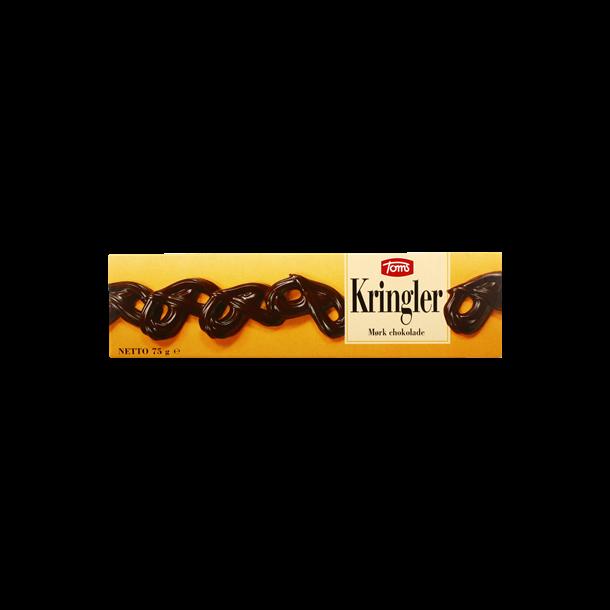 Toms Kringler mørke, 75 gram