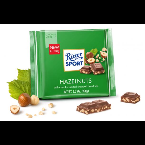 Ritter Sport Hazelnuts, 100g