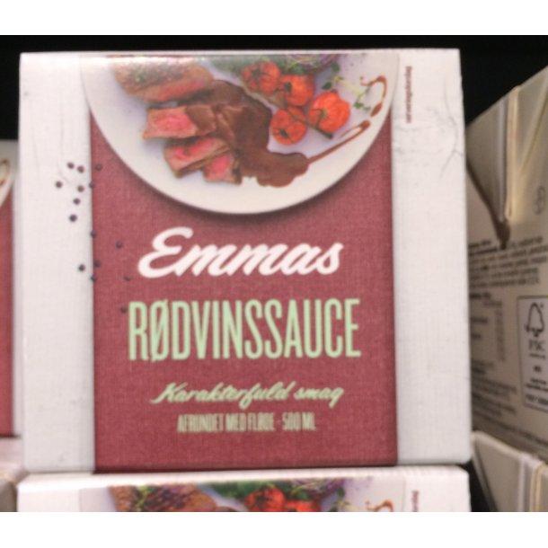 Rødvins Sauce fra Emmas, 1/2 liter.