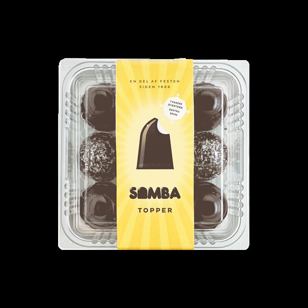 Samba Topper Flødeboller, 9 stk.