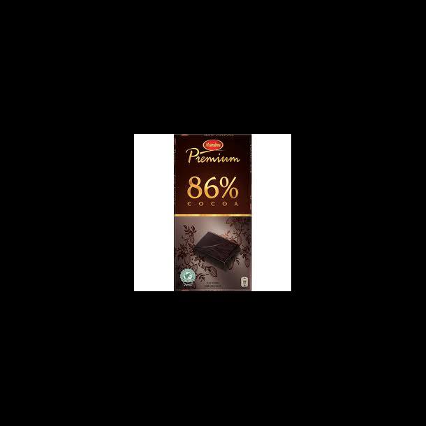 Marabou Chokolade Premium 86% Kakao, 100 gram