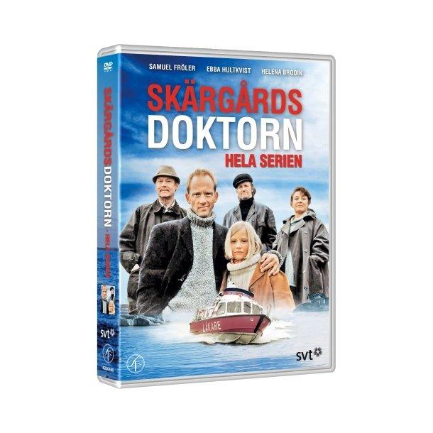 Skærgårdsdoktorn, dvd, hele serien.
