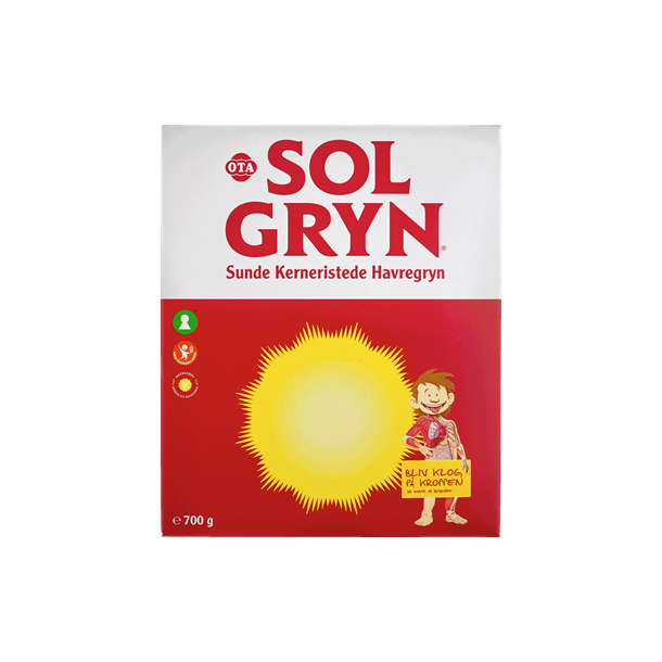 Solgryn, OTA. 700 g