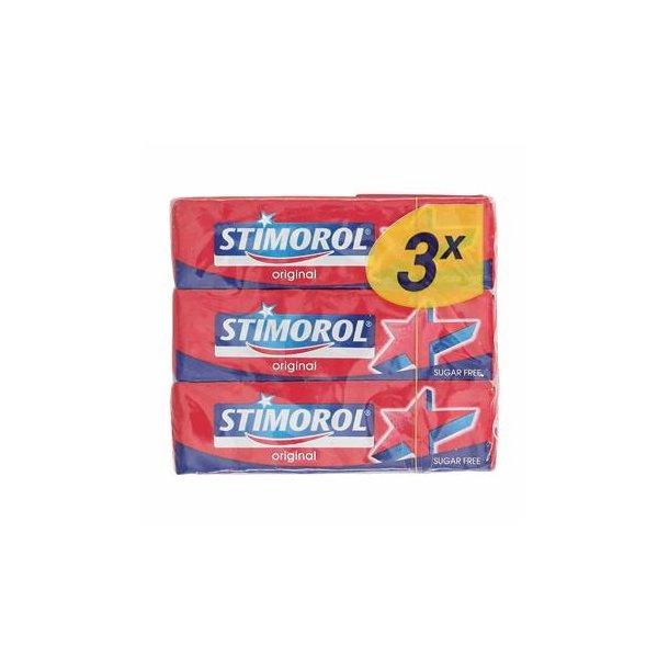 Stimorol Tyggegummi, vælg selv variant, pakke med 3 stk.