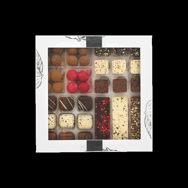 Chokoladeæske fra Perto, Tapas, 300g.