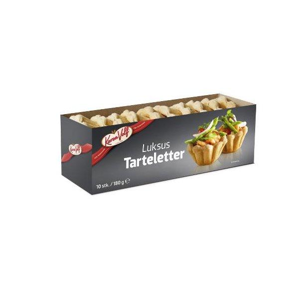 Luksus Tarteletter fra Karen Volf 10 stk.