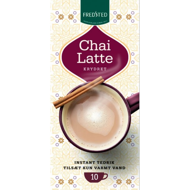 Fredsted Chai Latte Krydret, 260 gram