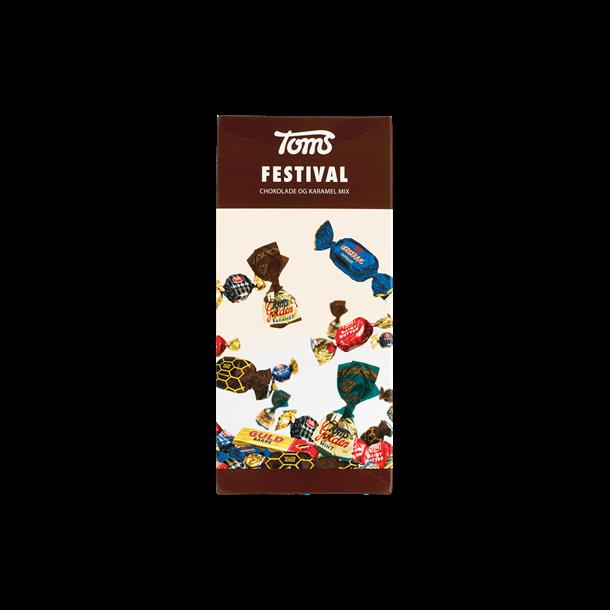 Toms Festival chokolader, 250g