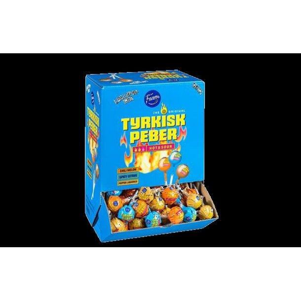 Tyrkisk Peber Hot/Sour 150 stk 1.8 kg