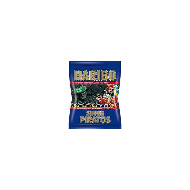 Haribo Piratos Super, 135 gram(Haribo, liquorice, Piratos super, 135 gram)
