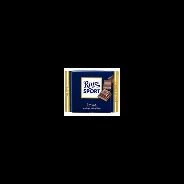 Ritter Sport med nougat ( praline ), 100 gram