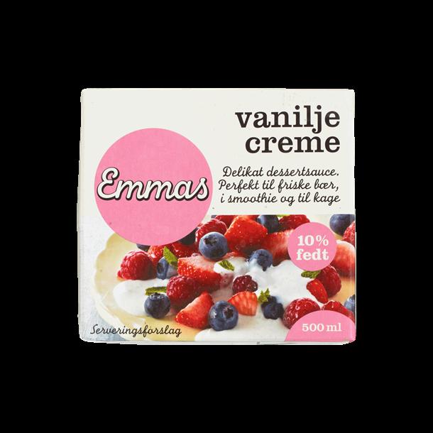 Vanille Creme, 1/2 liter