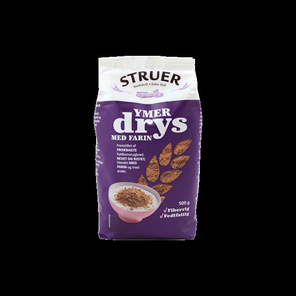 Ymerdrys med farin, Struer 500 gram (Rye bread crumbs with brown sugar)